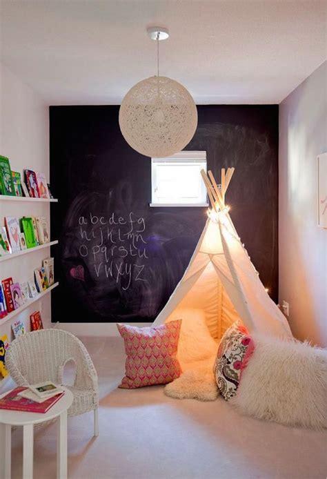 whimsical teepee reading nooks  kids