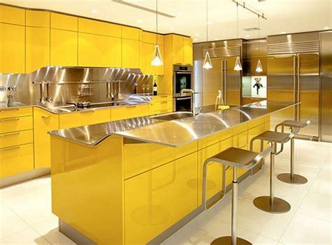 bright yellow kitchen accessories modern yellow kitchen designs 4918