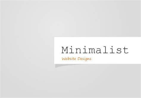 Minimalist Website Design & Seo