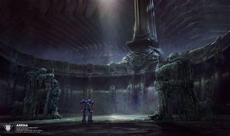 transformers   knight concept art syfycom exclusive megatron optimus prime