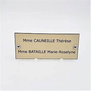 Plaque Pour Boite Aux Lettres : plaque de boite aux lettres grand format sur mesure ~ Dailycaller-alerts.com Idées de Décoration