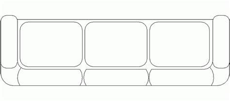 sofa 3 plazas dwg bloques autocad gratis de sof 225 de 3 plazas mod 10