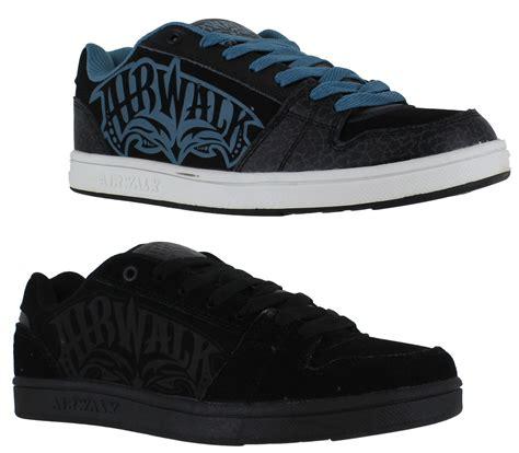 airwalk original casual boys junior airwalk casual skate lace up padded shoes
