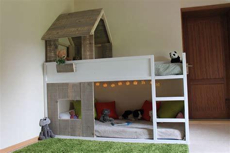 ikea bureau lit cabane kura simple à réaliser bidouilles ikea