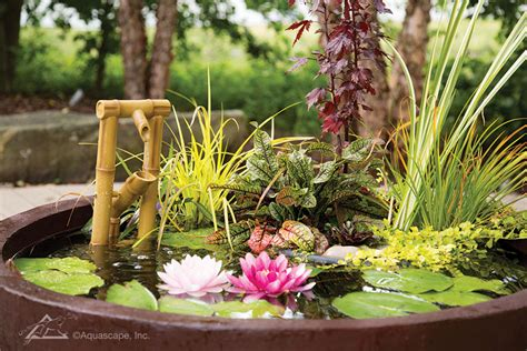 Aquascape Patio Pond by Patio Water Features Patio Pond Water Garden Outdoor