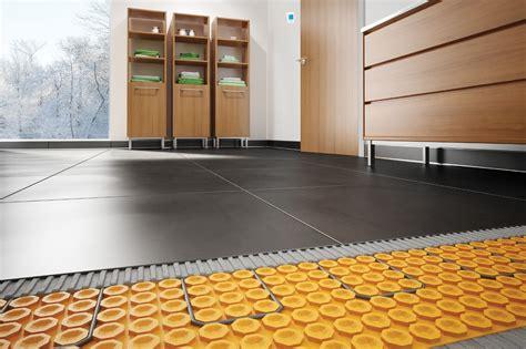 heated floors schluter ca