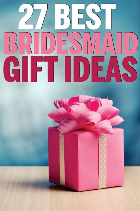 27 Unique Bridesmaid Gifts Your Besties Will Love Play