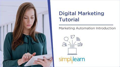 Marketing Tutorial by Marketing Automation Tutorial Digital Marketing Tutorial