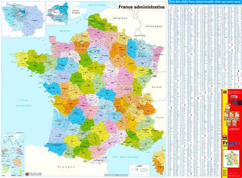 postleitzahlenkarte frankreich  commee landkarten