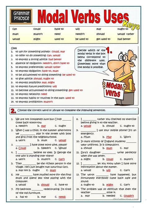 modal verbs uses grammar