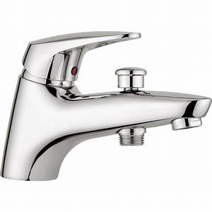 Mitigeur Sur Baignoire : robinet de baignoire robinet de salle de bains leroy ~ Edinachiropracticcenter.com Idées de Décoration