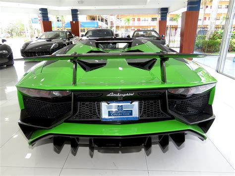 verde mantis lamborghini aventador sv roadster