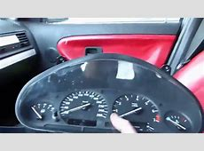 Comment démonter le compteur sur BMW E36 YouTube