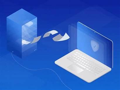 Website Marketing Animations Data Dribbble Server Visualization