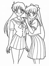 Coloring Pages Sailormoon Sailor Moon Tv Series sketch template