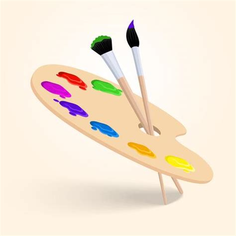 paleta de cores da arte download vetores e gr 225 ficos