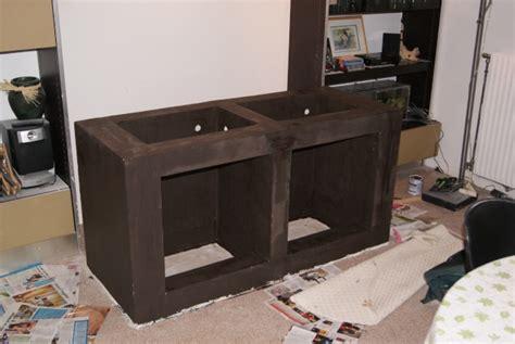 fabriquer un meuble pour aquarium
