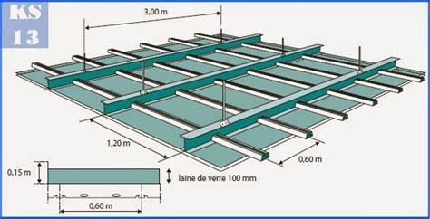 ks services 13 prix doublage plafond en plaques de pl 226 tre sur ossature m 233 tallique pour