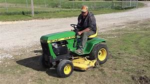John Deere 317 Garden Tractor Selling On Bigiron Online Auction June 7th 2017