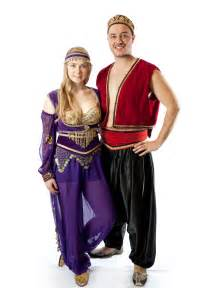 Arabian Nights Couples Costumes
