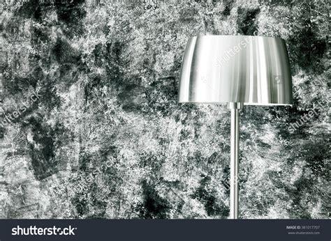 Modern Hanging Metal Wall Art Sculpture Contemporary: Lamp Shade Modern Black Metal Lamp Stock Photo 381017707
