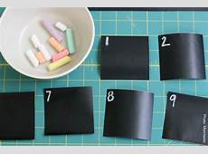 DIY Chalkboard Paper Calendar At Home with Kim Vallee