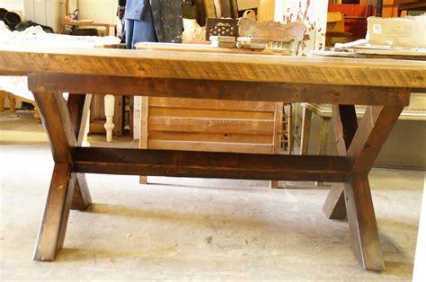 tables de cuisines table de cuisine 100 vieux bois n 1003 le géant antique