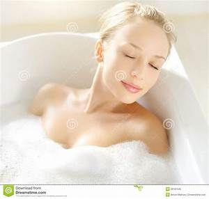 attractive girl relaxing in bath stock image image of With girl in the bathroom pics