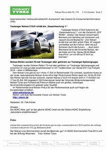Automobilclubs Stiftung Warentest : nokian reifen sind gut im adac sommerreifen test 2014 ~ Kayakingforconservation.com Haus und Dekorationen
