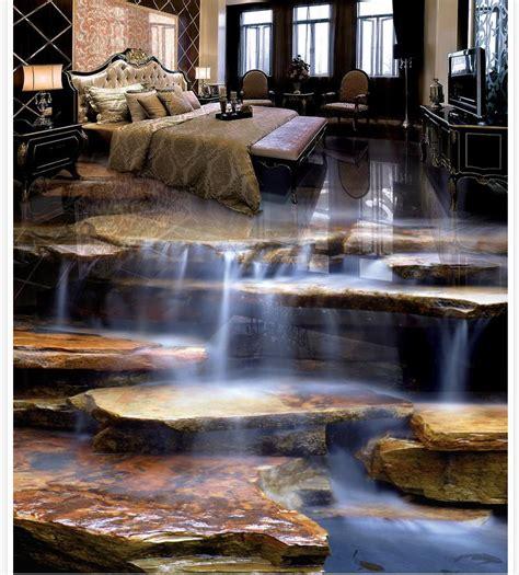 home decoration stone waterfall living room bathroom