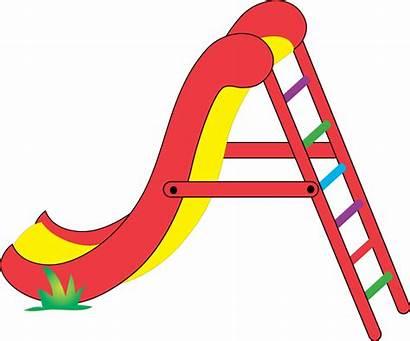 Slide Clipart Cartoon Cliparts Clip Playground Slides