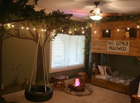 awesome themed bedding great for treehouse ideas for you and the kids total survival