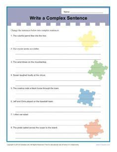 conjunction worksheet  problems  answer key tws