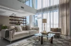 bel appartement en duplex au design moderne situe a miami With maison toit plat en l 12 maison contemporaine en floride au design luxueux et