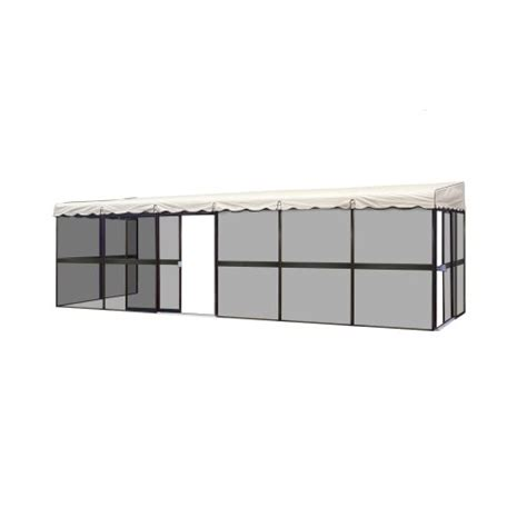 Patio Mate 10 Panel Screen Room by Patio Mate 10 Panel Screen Enclosure 09365 Brown With