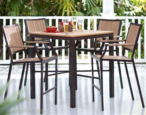 santa rosa 5 bar height set dining furniture