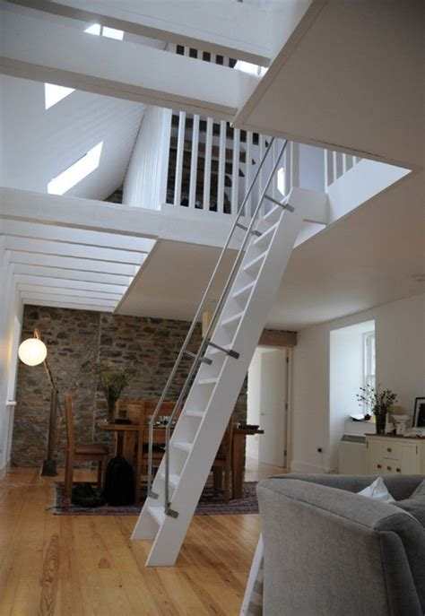 Loft Bedroom Access by Ackling Cook Bothy Reiach And Architects Loft