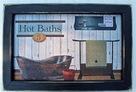 primitive rustic southwest country farm house bathroom