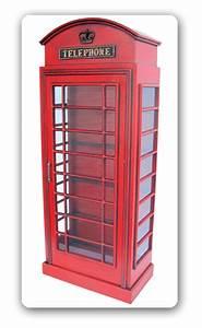 Englische Telefonzelle Deko : englische telefonzelle britische als vitrine schrank deko dekoration m bel neu ebay ~ Frokenaadalensverden.com Haus und Dekorationen