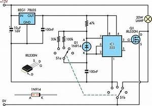 12v Halogen Dimmer Circuit Diagram