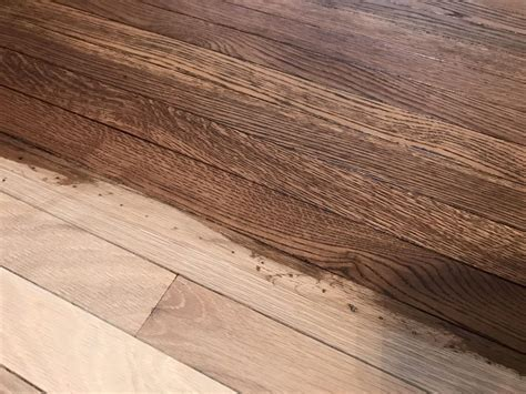 Dustless Sanding Hardwood Floor in Hoffman Estates   Tom