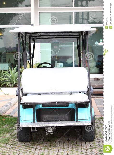 siege chariot siège de chariot de golf images libres de droits image