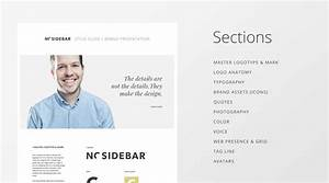 Vertical Style Guide Template For Just  28 From Sidecar