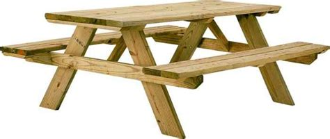6 foot wood table universal forest 106116 6 foot wooden picnic table kit at