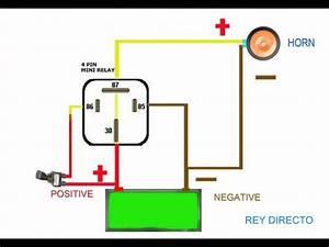 4 Pin Relay Wiring Diagram Lights