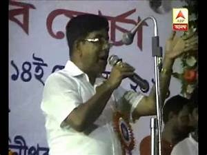 BJP leader Subhash Sarkar attacks TMC on saradha issue ...