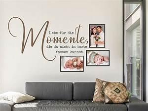 Tattoos Für Die Wand : wandtattoo fotorahmen lebe f r die momente wandtattoo de ~ Orissabook.com Haus und Dekorationen