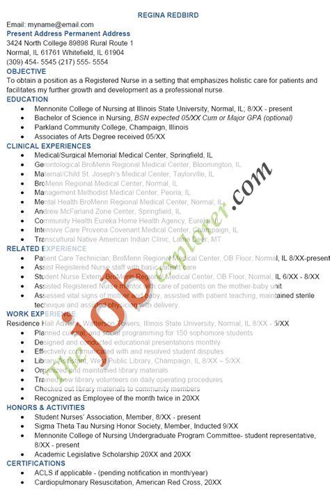 resume sle sle resume template