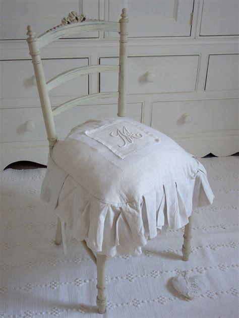 galette de chaise style cagne galette de chaise shabby