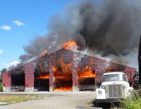 Barn Fires by Three Alarm Barn South Of Lynden Leaves 380k In